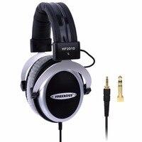 HF2010 Hi Fi Headphone Semi Open Over Ear 3 5 6 3 Plug Adjustable And Light