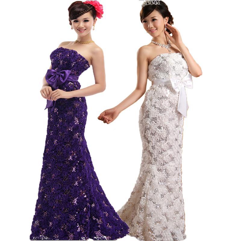 Berühmt Lila Lange Brautjungfer Kleid Fotos - Brautkleider Ideen ...