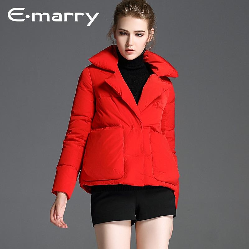New Plus size 2017 Winter jacket women down jackets womens White Duck down outerwear coat short long sleeve parka overcoats