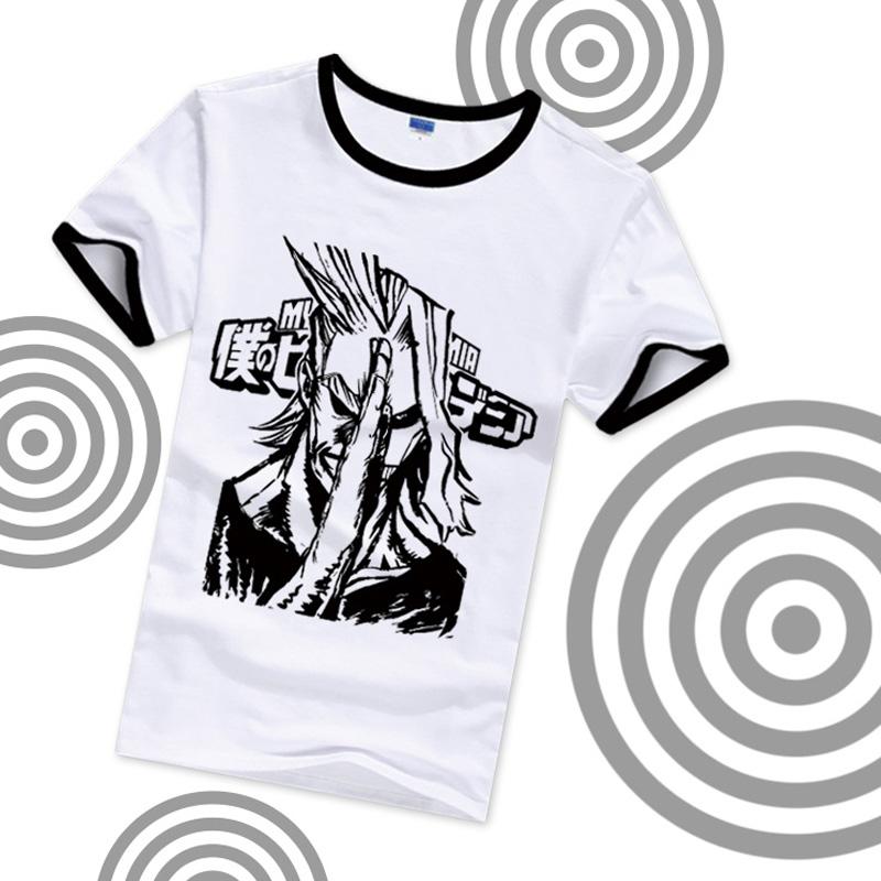 Cosworld Boku no Hero Academia T-Shirt Short Sleeve Tee Shirt  My Hero Academia Izuku Midoriya Printed Summer Costume (7)