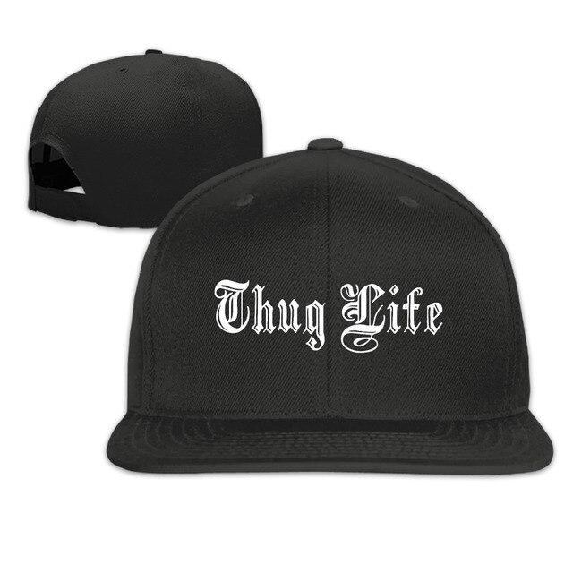 3ed1ed8beeb Harajuku 2017 Thug Life Sale High Quality Men Women Hip Hop Snapback Gorras  Bone Tumblr Baseball Cap Hat Casquette Unisex