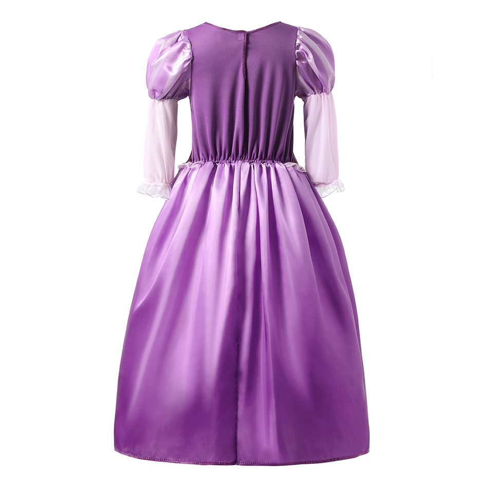 2 Rapunzel Dress Back View