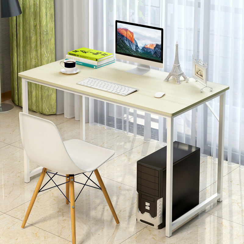 Simple Modern Desktop Office Desk Durable Laptop Table Computer Desk Office Furniture Study Writing Desk 250616 computer desk and desk style modern simple desk with bookcase desk simple table solder edge e1 grade sheet material