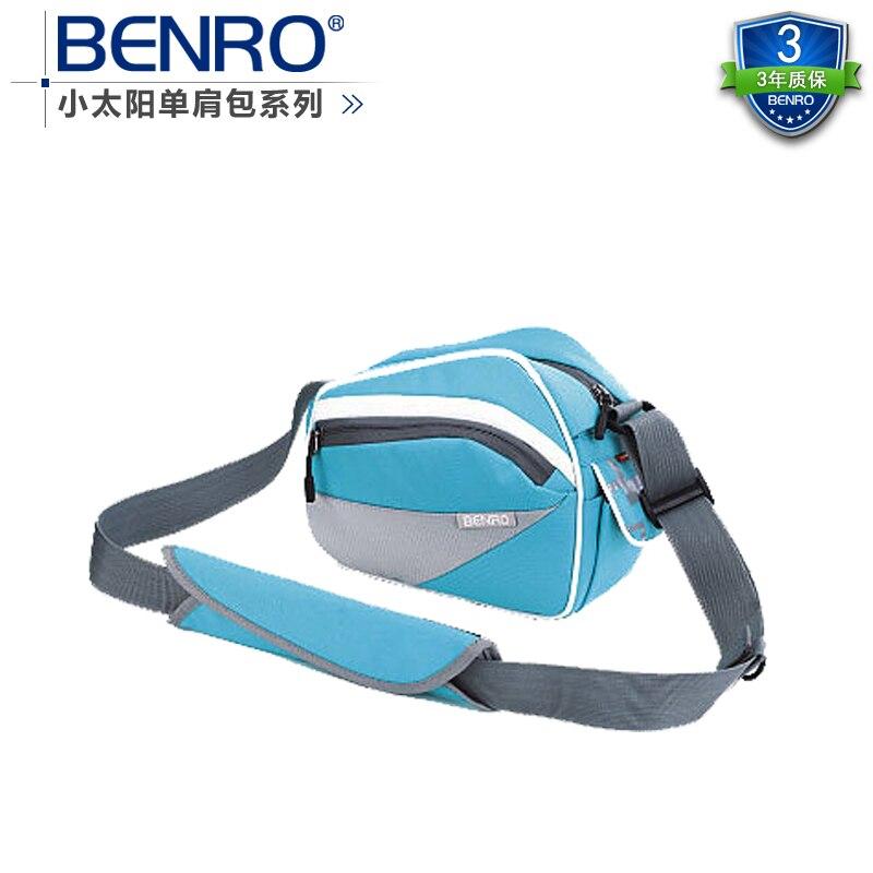 Benro paradise sunny 20 minisun one shoulder camera bag portable slr camera bag chromophous benro sunny 10 black
