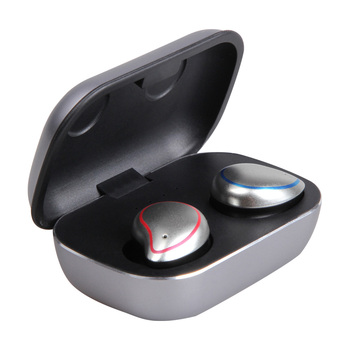 FDBRO Sport Stereo Sound Earphones Bluetooth 5.0 True Wireless Earbuds Balanced Bluetooth Earphone with Charging Box for Phone