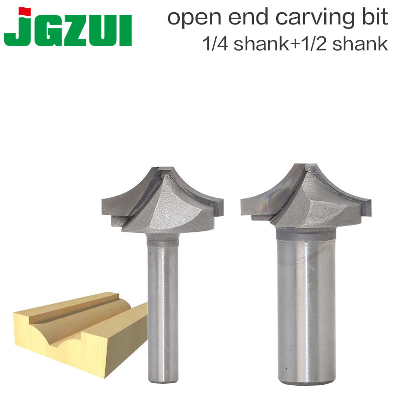1pc Tungsten Arbide Woodworking Cutter Open End Carving Bits