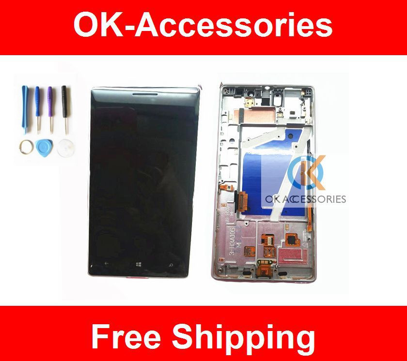 1PC/Lot Black Silver Color For Nokia Lumia 930 N930 LCD Display+Touch Screen Digitizer+Frame Assembly With Free Tools п м волцит м в собе панек как это летает самолёт и ракета