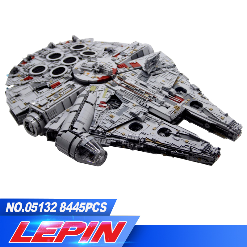 DHL In magazzino lepin 05132 Neue 7541 stucke Ultimative sammler Destroyer Star Serie Wars Bausteine Ziegel Kinder legoed 75192