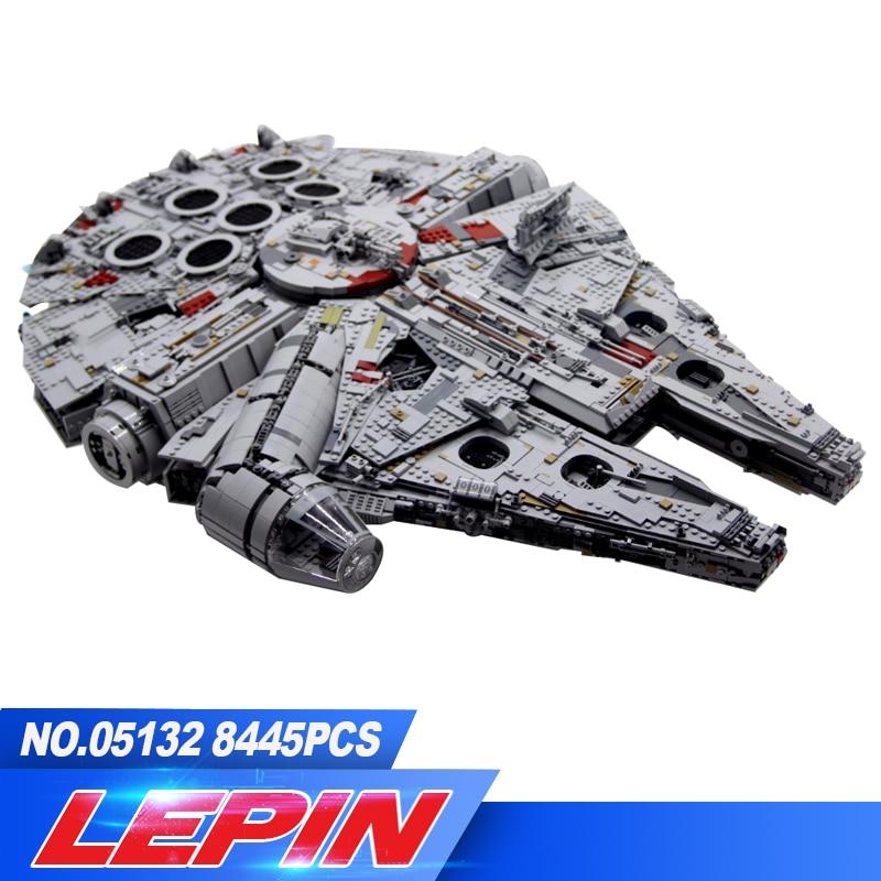 DHL en stock lepin 05132 Neue 7541 stucke Ultimative sammler destructor Serie Star Wars Bausteine Ziegel Kinder legoed 75192
