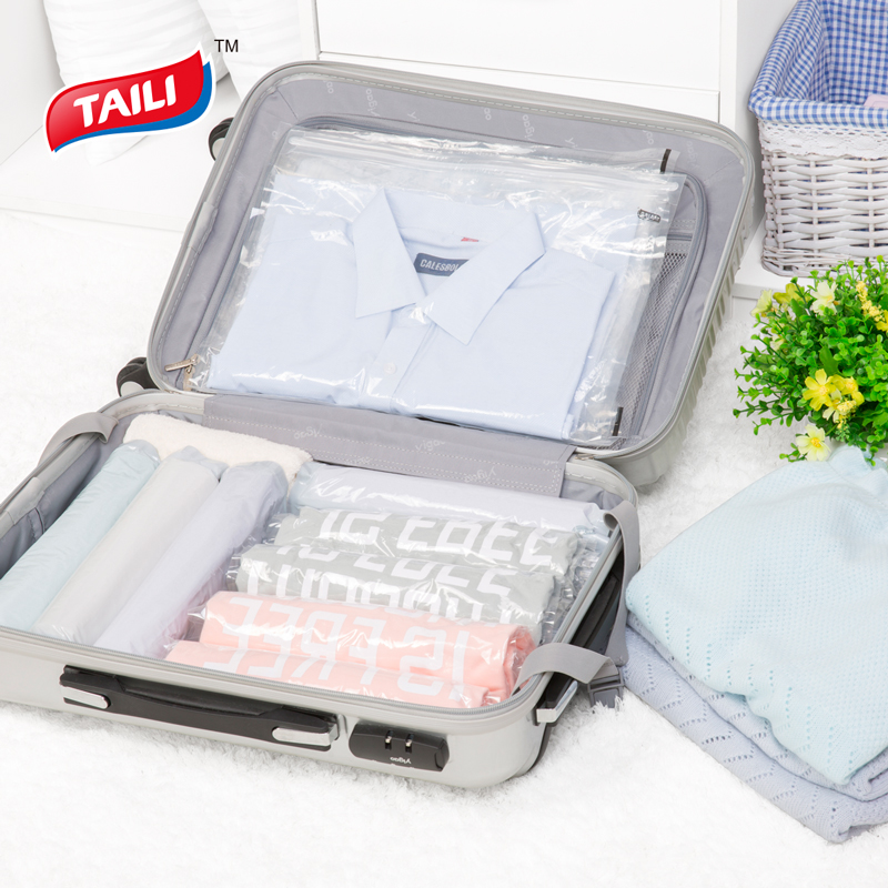 Online 8 Pcs Traveling Vacuum Bag Clothes Storage Suitcase E Saver Aliexpress Mobile
