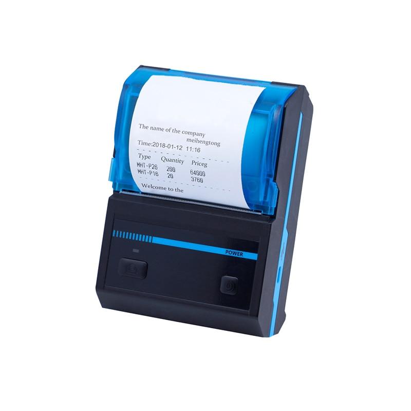 Mini 58mm Thermal Printer Bluetooth Android Thermal POS Receipt Printer Portable USB Printer Bill Machine For Supermarket gp 58mb 58mm usb pos thermal sensitive receipt printer bill printing machine black
