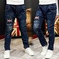 Los muchachos de los Pantalones Vaqueros Al Por Menor 2017 de La Moda de Primavera Otoño Nuevo Estilo Niños Pantalones Niños Bebés Niños Jeans Pantalones Envío Gratis