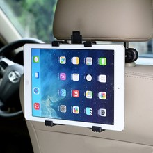 цена на Car Back Seat Tablet Stand Headrest Mount Holder for iPad 2 3 4 Air 5 Air 6 ipad mini 1 2 3 Tablet SAMSUNG PC Stands Universal