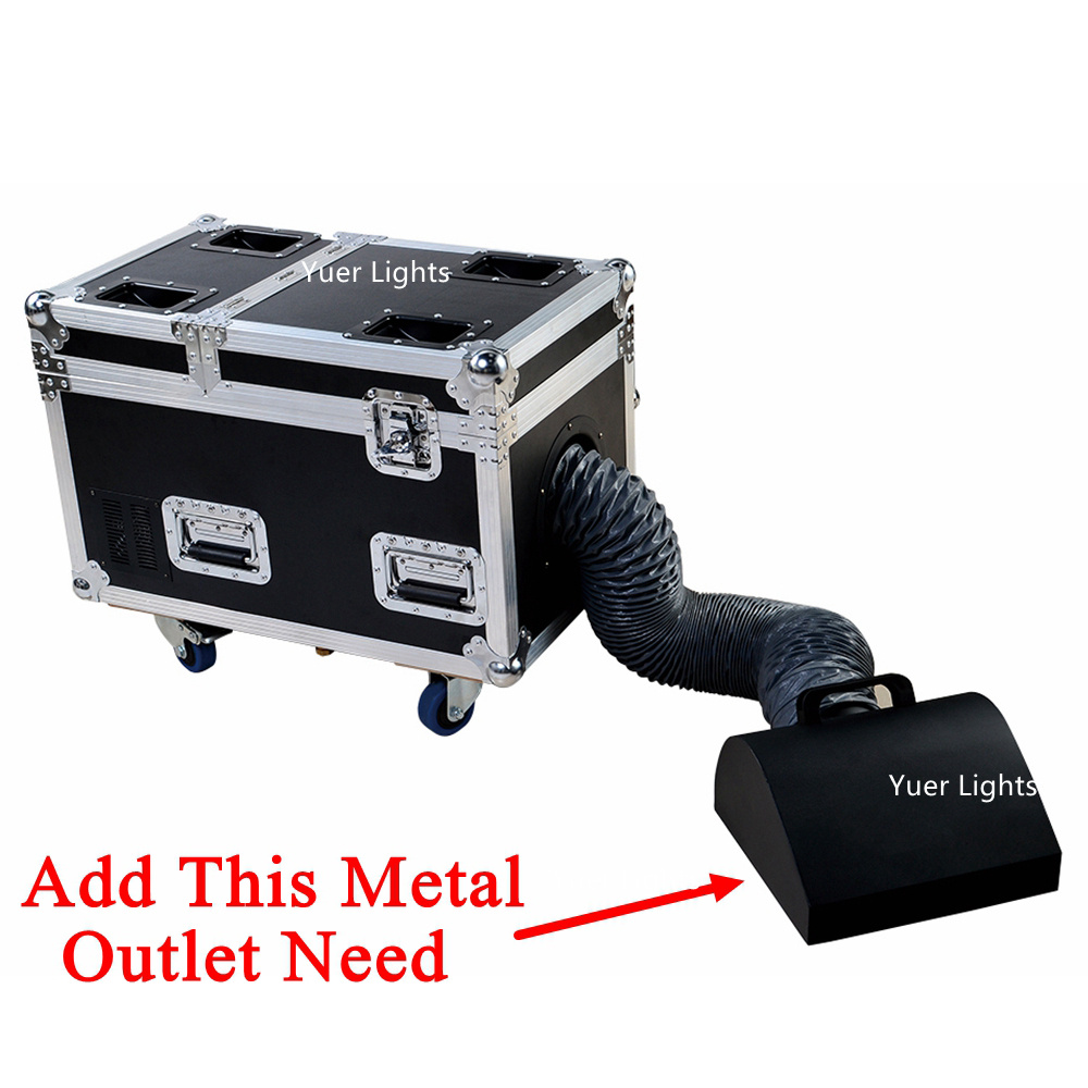 Image 2 - High Quality Small Case 3000W Water Base Fog Machine Water Mist Low Fog Smoke Machine Good For Xmas Holiday Stage Decorations-in Stage Lighting Effect from Lights & Lighting