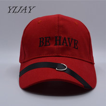 2018 summer embroidery women men caps be have letter long tape kanye west fear of god hip hop baseball cap justin bieber hats(China)