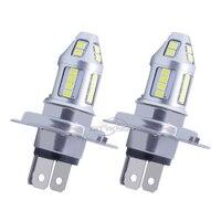 10PCS H7 H4 Led Bulb 30SMD 2835 30W High Power Ultra Bright Led H7 H4 LED