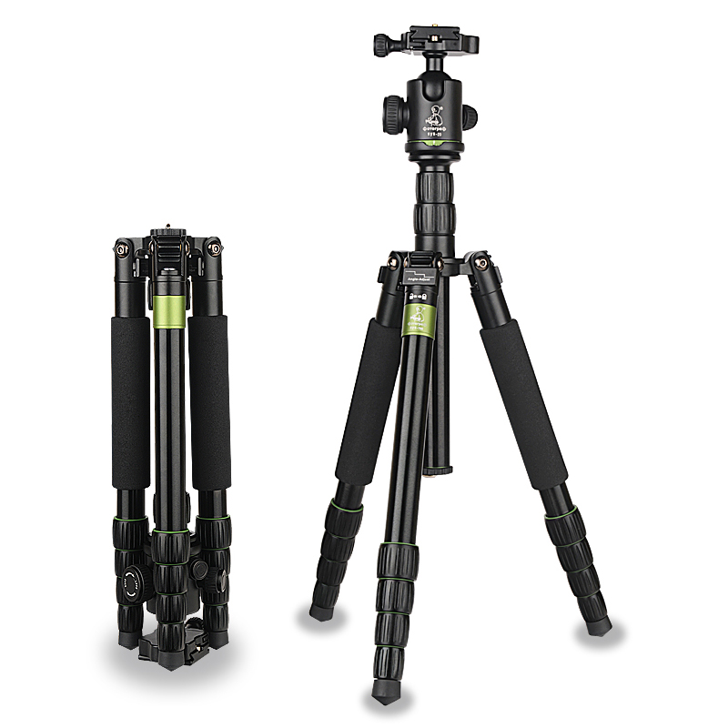 SYS700 Aluminium Alloy Professional Tripod Monopod for DSLR Camera with Ball Head Free Shipping free shipping velbon aluminum ball head qhd u4q for dslr camera tripod