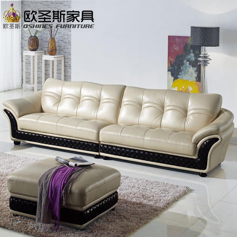 Mide East Style4 Seat Chesterfield Leather Sofahot Sale Dubai Sofa Furniture