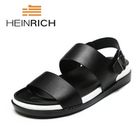 HEINRICH Men's Summer Sandals New Breathable Men Lighted Casual Outdoor Beach Men Sandals High Quality Fashion Gladiator Shoes