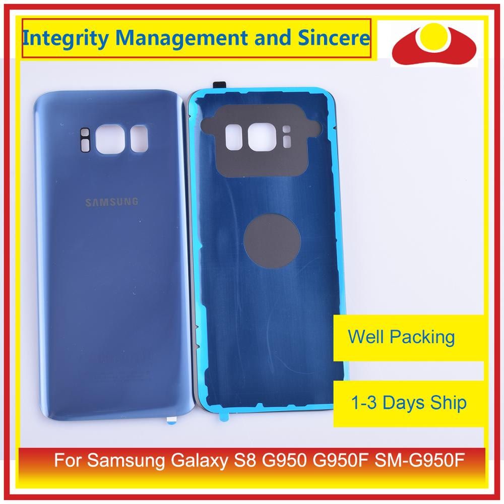 Image 5 - 50Pcs/lot For Samsung Galaxy S8 G950 G950F SM G950F Housing Battery Door Rear Back Glass Cover Case Chassis Shell-in Mobile Phone Housings & Frames from Cellphones & Telecommunications