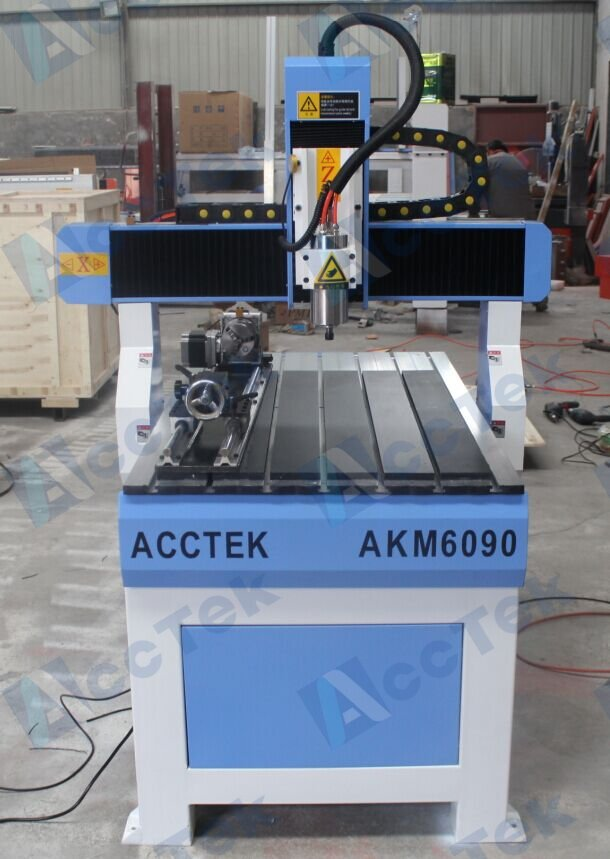 Acctek high quality mini 3d cnc router 6040/6090/6012 cnc engraving machine usb