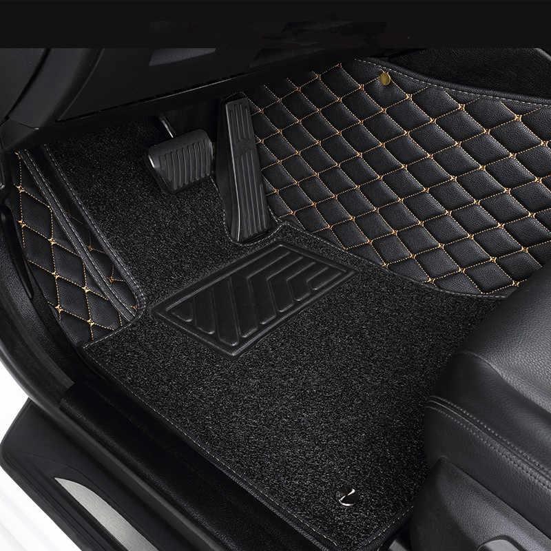 Tapis de sol de voiture sur mesure pour VOLVO tous les modèles C70 S40 S60 S80 S90 V40 V50 V60 XC40 XC60 XC70 XC90 accessoire tapis de sol de style de voiture
