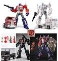Transformação TF G1 Versão Ampliada Da Liga & ABS Obra MPP10 M01 MPP10W Optimus Prime Figura PVC Brinquedos Juguetes