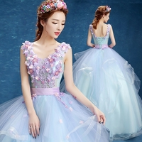 Ball Gown Quinceanera Dresses Flowers Princess Debutante Puffy Prom quinceanera Gowns Sweet 16 Masquerade Robe de soiree