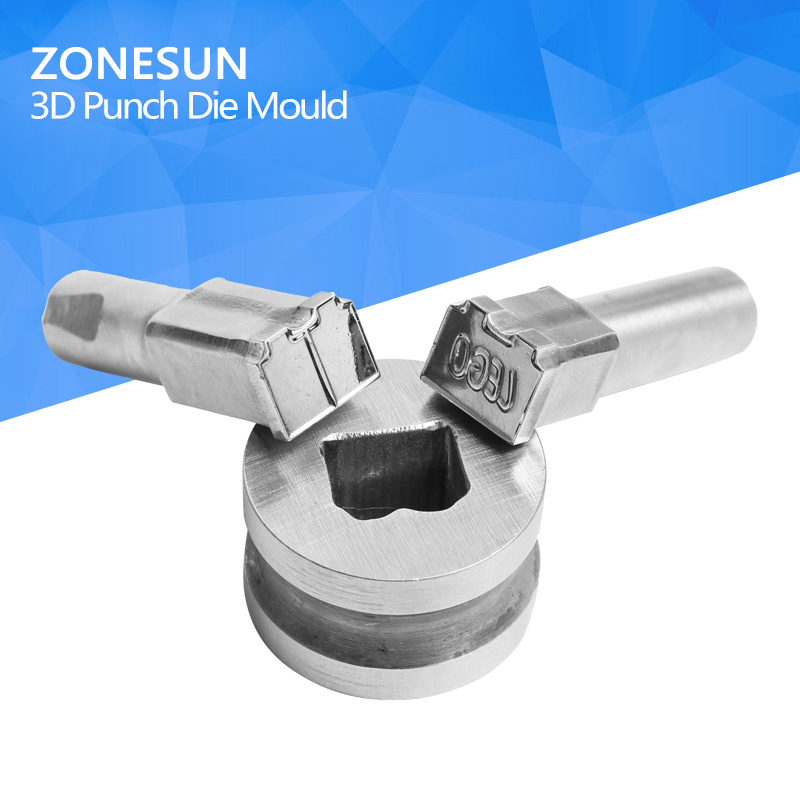 ZONESUN 1 set of custom pill press die punch die press or tablet press pill press die pill maker TDP round tablet die stamp 6mm blank round stamp tdp 1 5 die mould die punchers for punch tablet press machine