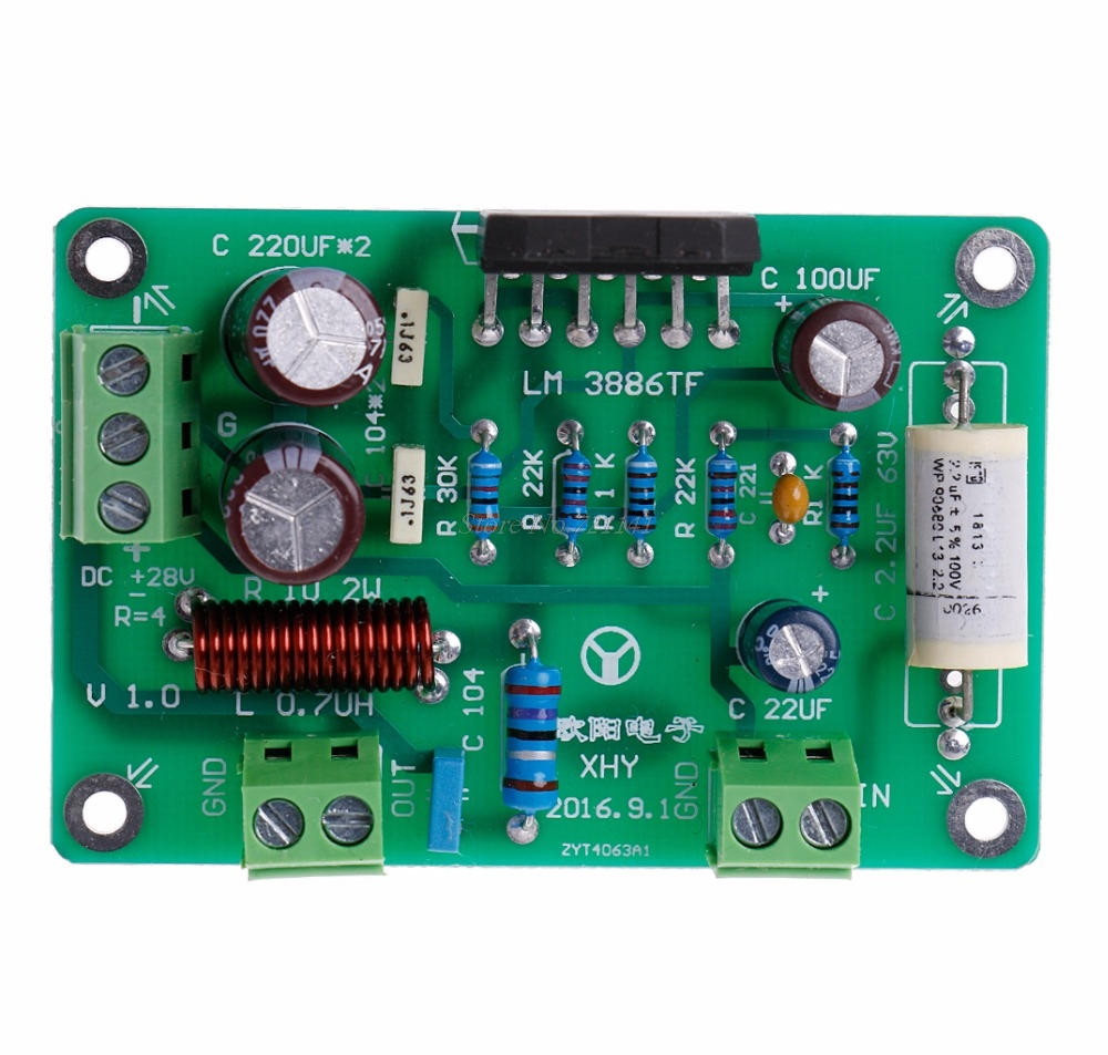 Buy 8 Ohm Amp And Get Free Shipping On Active Subwoofer Amplifier Circuit Tda7294 Vu Meter Dc To