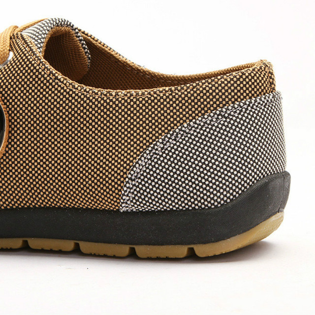 2019 Fashion Canvas Shoes Men Casual Shoes Summer Breathable Yellow Comfortbale Espadrilles Sneakers Men Flats Shoes Big Size