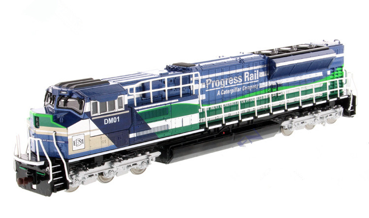 Rare Alloy Toy Model 1:87 DM EMD SD70ACe-T4 Locomotive Progress Rail Vehicle Diecast Toy Model 85534 For Collection,DecorationRare Alloy Toy Model 1:87 DM EMD SD70ACe-T4 Locomotive Progress Rail Vehicle Diecast Toy Model 85534 For Collection,Decoration