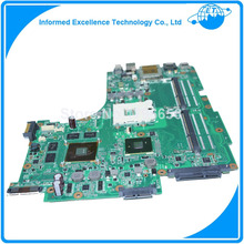 For asus N53JF N53J Laptop Motherboard support I3 and I5 cpu 2 RAM slots
