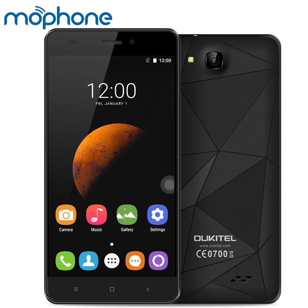 "bilder für Original OUKITEL C3 3G WCDMA Smartphone 5,0 ""1280*720 pixel MTK6580A Quad-Core 1 GB + 8 GB Android 6.0 2000 mAh Batterie Handy"