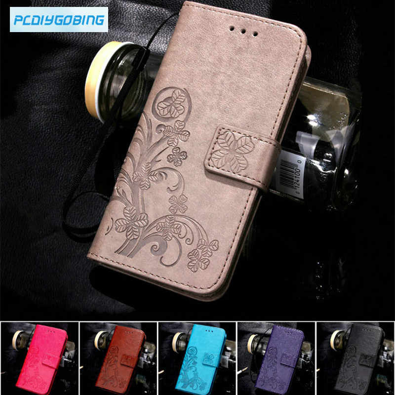 Butterfly Luxury Leather Phone Case For Doogee X3 / X5 Max  X5 Max Pro / F5 / X6 X6 Pro Back Cover Flip Shell Wallet Stand
