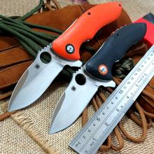 Great designed C187 Ball Bearing Flipper Folding Knives Rubicon CPM-S30V steel  G10 Handle Tactical Camping Knife outdoor  tool