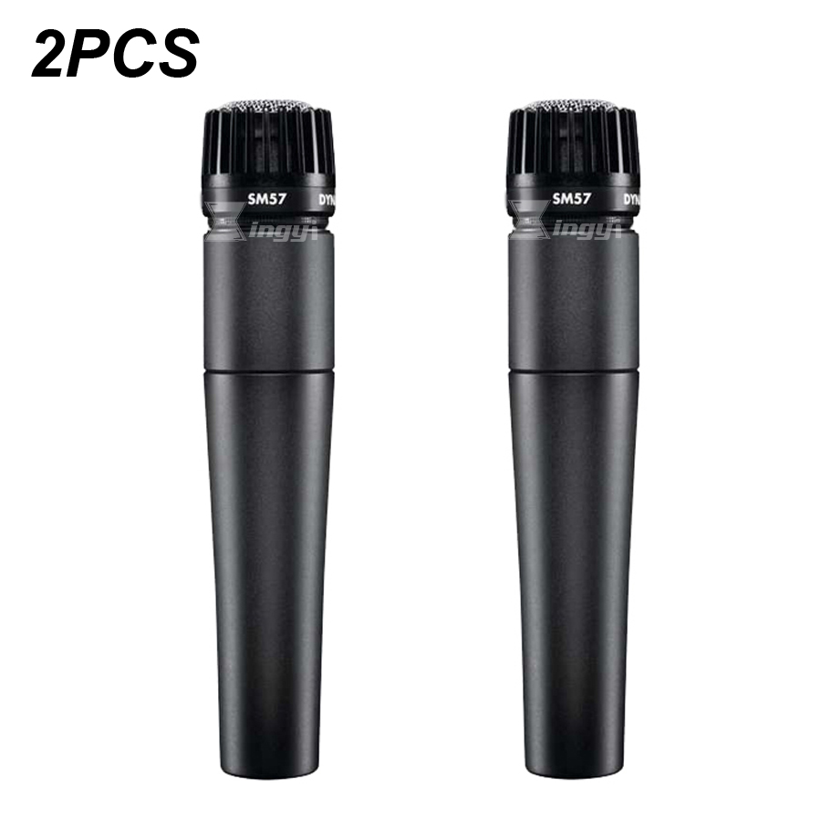 2PCS SM 57LC Handheld Vocal Wired Mic Dynamic Microphone For SM57 SM 57 Video Recording Guitar