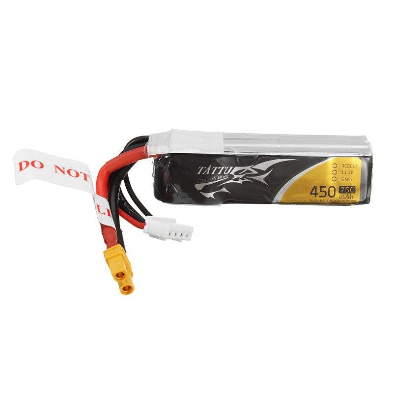 Tattu 1800mAh 11.1V 75C 3S1P Lipo Battery Pack Racing a € ...