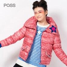 PASS 2017 New Style Women Parkas Intensification Blousing In Fastener Free Style Fashion Women Parkas