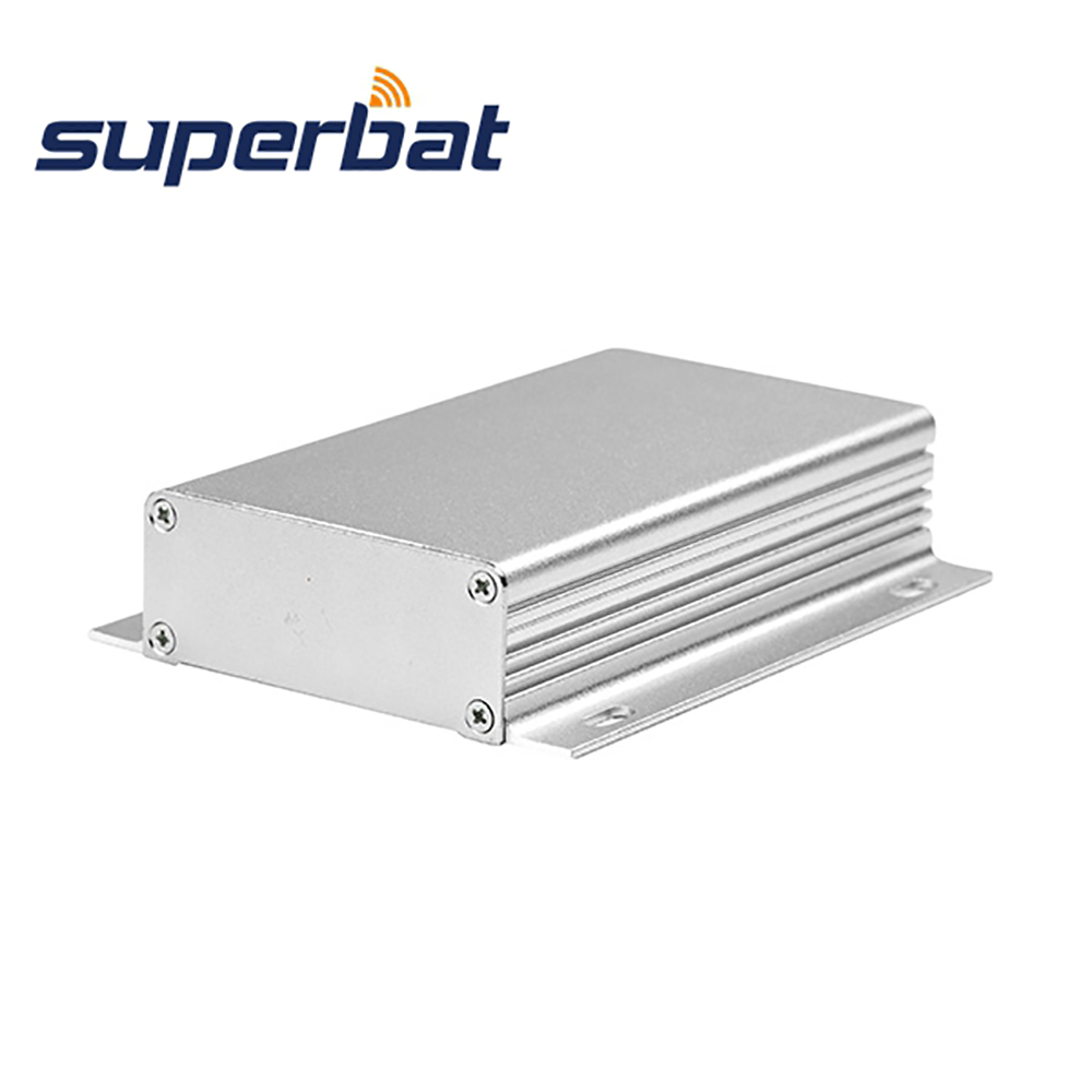 Superbat 110*62*25mm Aluminum Project Box Enclosure Case For Electronic Instrument Amplifier PCB 4.33