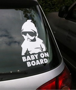 Car Stickers BABY ON BOARD for AUDI A1 A3 A4L audi a4 b8 A6L A7 A8L A4 A5 S5 S6 A6 A8 S8 Q3 Q5 Q7 SQ5 Q1 TT TTS Accessories