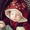Bebé Suéter De La Muchacha Del Muchacho Ropa de Primavera Antumn Casual Nyc Oeuf Niños Prendas de Punto Jumper Ciervos Lindo Suéter de Los Niños Chaqueta de la Rebeca
