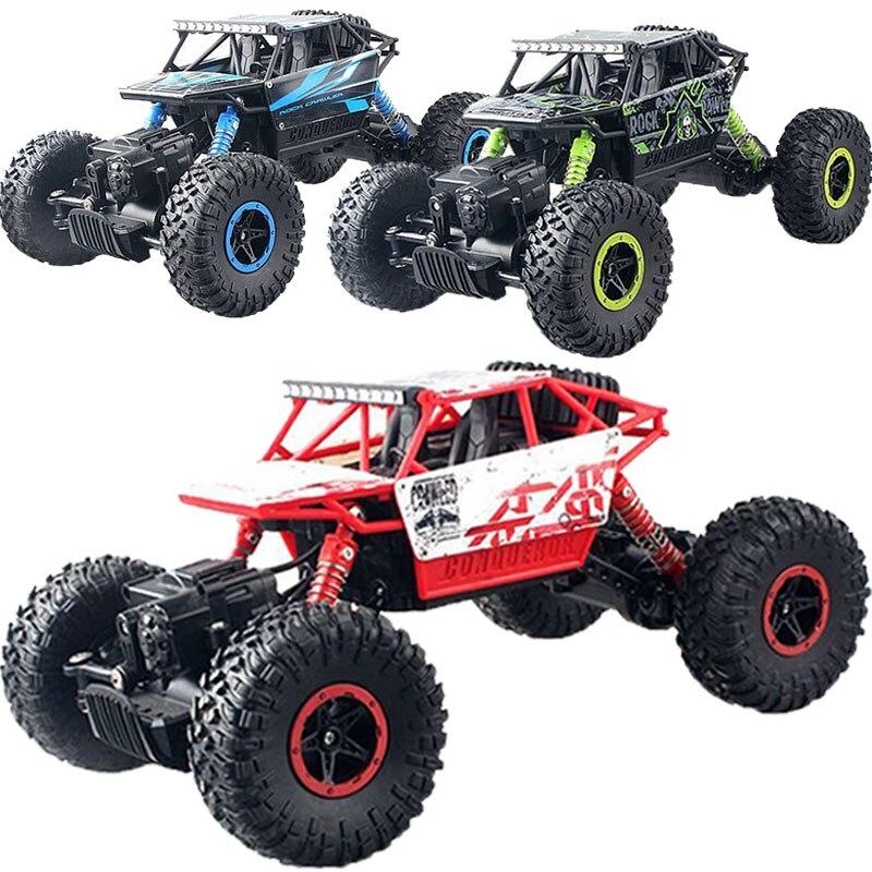 Rc rock racing véhicule cars 2.4 ghz haute vitesse 1:18 à distance Radio de Contrôle Électrique Sur Chenilles Buggy Hobby Voiture Sur Chenilles Camion Cadeau M09