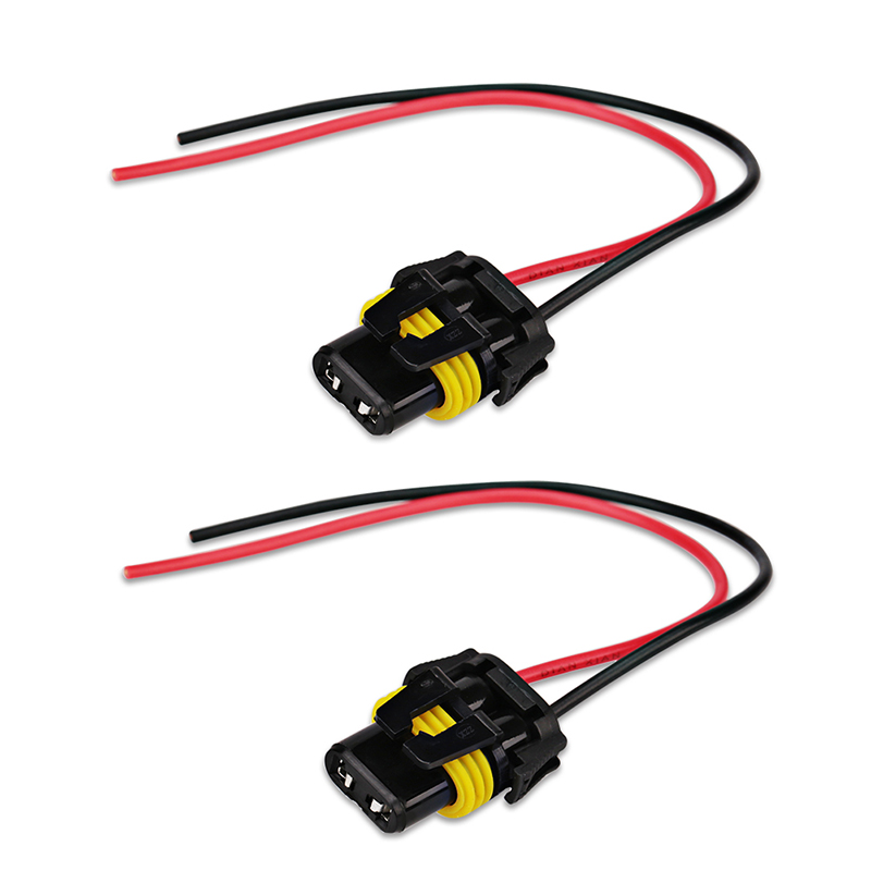 2pcs 9005 Hb3 9006 Hb4 H10 Universal Female Adapter Wiring Harness Sockets Wire Cable For Headlight: 9006 Hb4 Wiring Harness At Johnprice.co