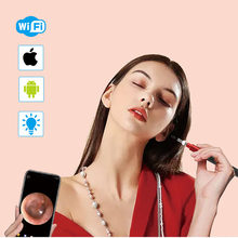IOS/Android WiFi Ear Otoscope Wireless HD1080P Digital Endoscope Ear Inspection Camera 3.9mm Earwax Cleaning Tool With 6 Fitting 1 3mp 720p hd ear scope inspection camera ear digital endoscope otoscope earwax cleansing tool with 6 leds