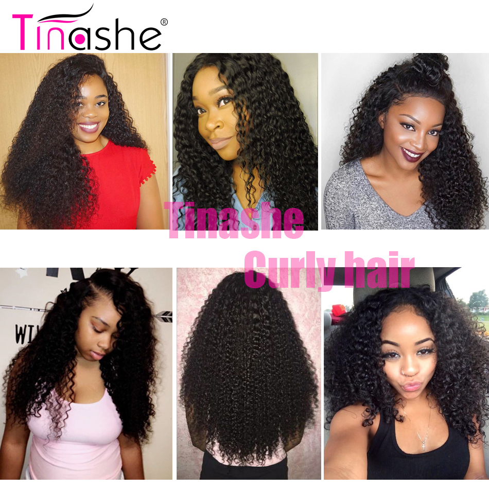 Tinashe Hair Curly Bundles With Closure 5x5 6x6 Closure And Bundles Brazilian Hair Weave Remy Human Hair 3 Bundles With Closure