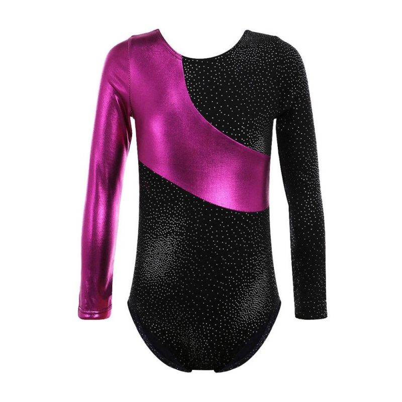 US $8 05 20% OFF Long Sleeve Color Highlights Spell Color Body Suit Ballet  Gymnastics Dance Practice Clothes on Aliexpress com   Alibaba Group