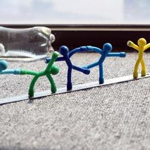 9 цветов выбор приколов розыгрыши новинка игрушки для детей Мальчики подарок и взрослые офисные игрушки Магнитный стресс-рельеф холодильник