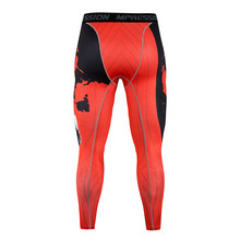 New summer mens casual pants. Brand compression tights, tight leggings. Mens fashion stretch bodybuilding trousers