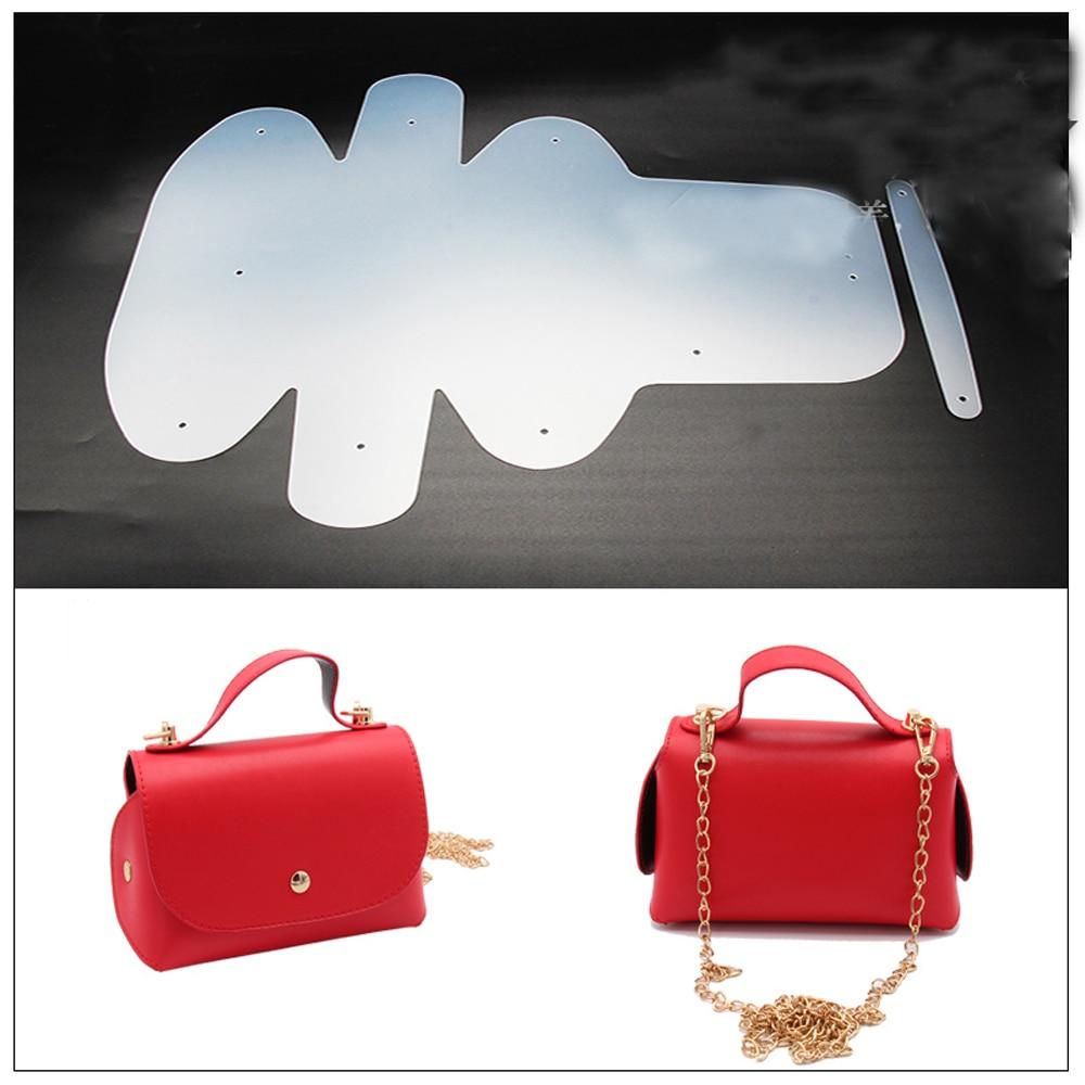 2018 DIY leather craft bag small handbag sewing pattern ...